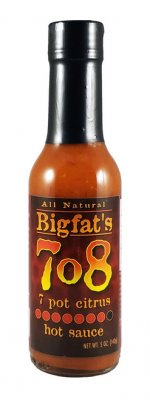 Bigfats 7o8 7 Pot Citrus Hot Sauce