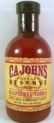 Cajohn's Rasperry Vodka BBQ Sauce