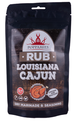 Louisiana Cajun Rub - Poppamies