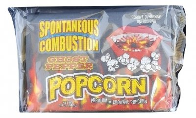 Popcorn - SPONTANEOUS COMBUSTION Ghost pepper