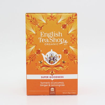 Super Goodness Tumeric, Ginger & Lemongrass - English Tea Shop