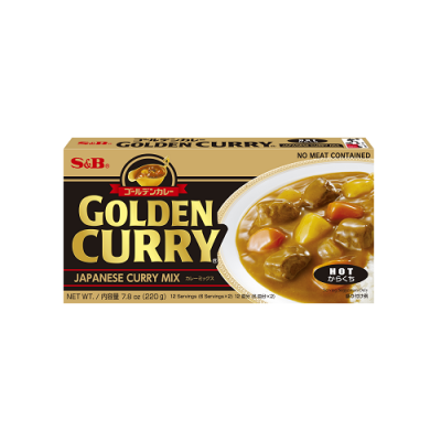 Japansk Curry Hot