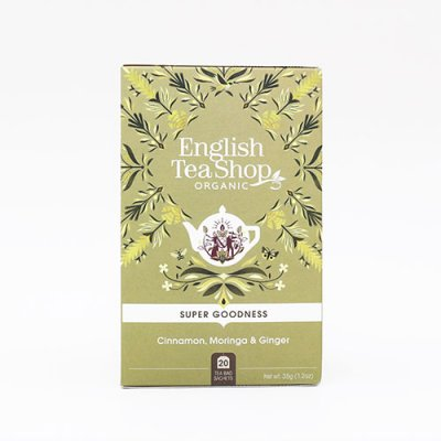 Moringa, Kanel & Ingefära - English Tea Shop