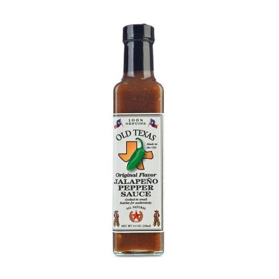 Old Texas Jalapeno Pepper Sauce