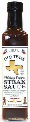 Old Texas Whiskey Pepper Sauce