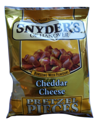 Snyders Pretzels Cheddar Cheese