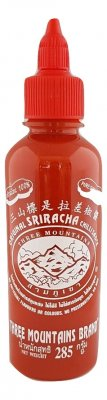 Röd Sriracha - Three Mountains