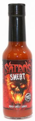 Satans Sweat Naga Chili Sauce