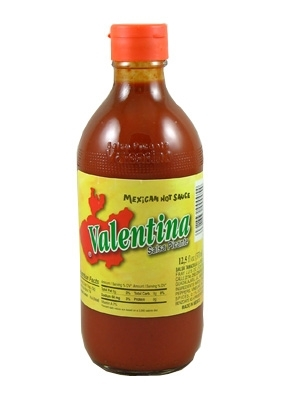 valentina hot sauce red lable