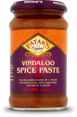 Hot Vindaloo Paste - Pataks