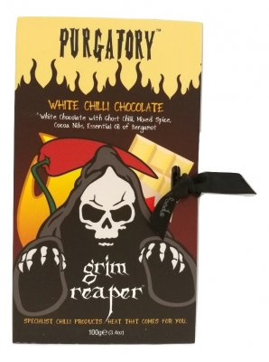 Purgatory White Chocolate - Ghost Chili
